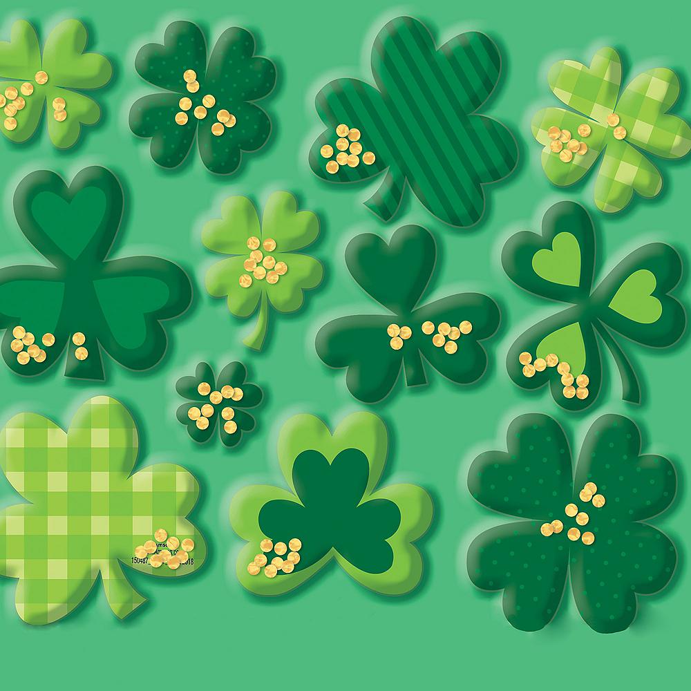 Shamrock St. Patrick's Day Sticker Shakers 1 Sheet Image #1