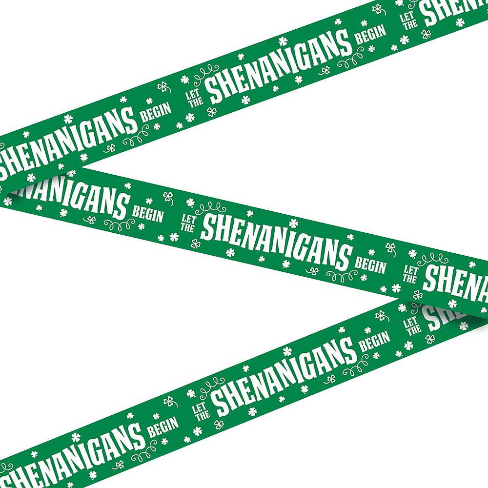 Let the Shenanigans Begin Caution Tape Image #1
