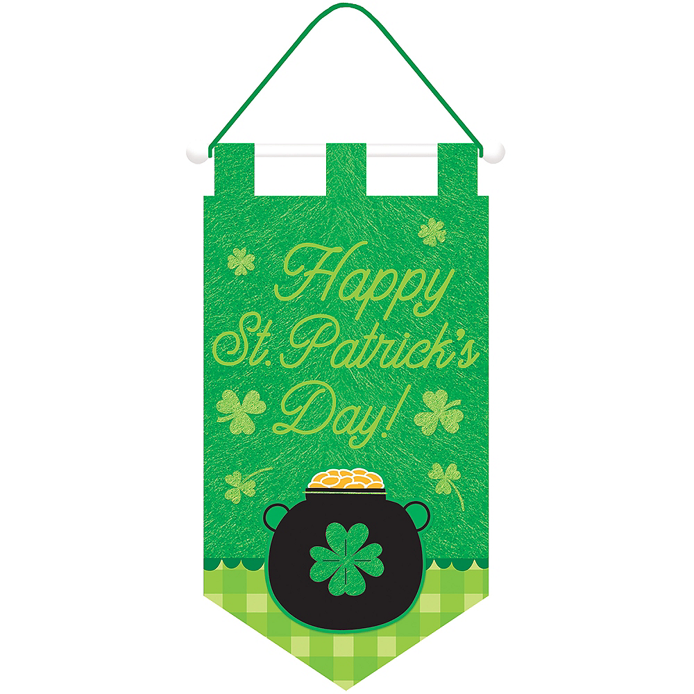 Pot of Gold St. Patrick's Day Door Banner Image #1