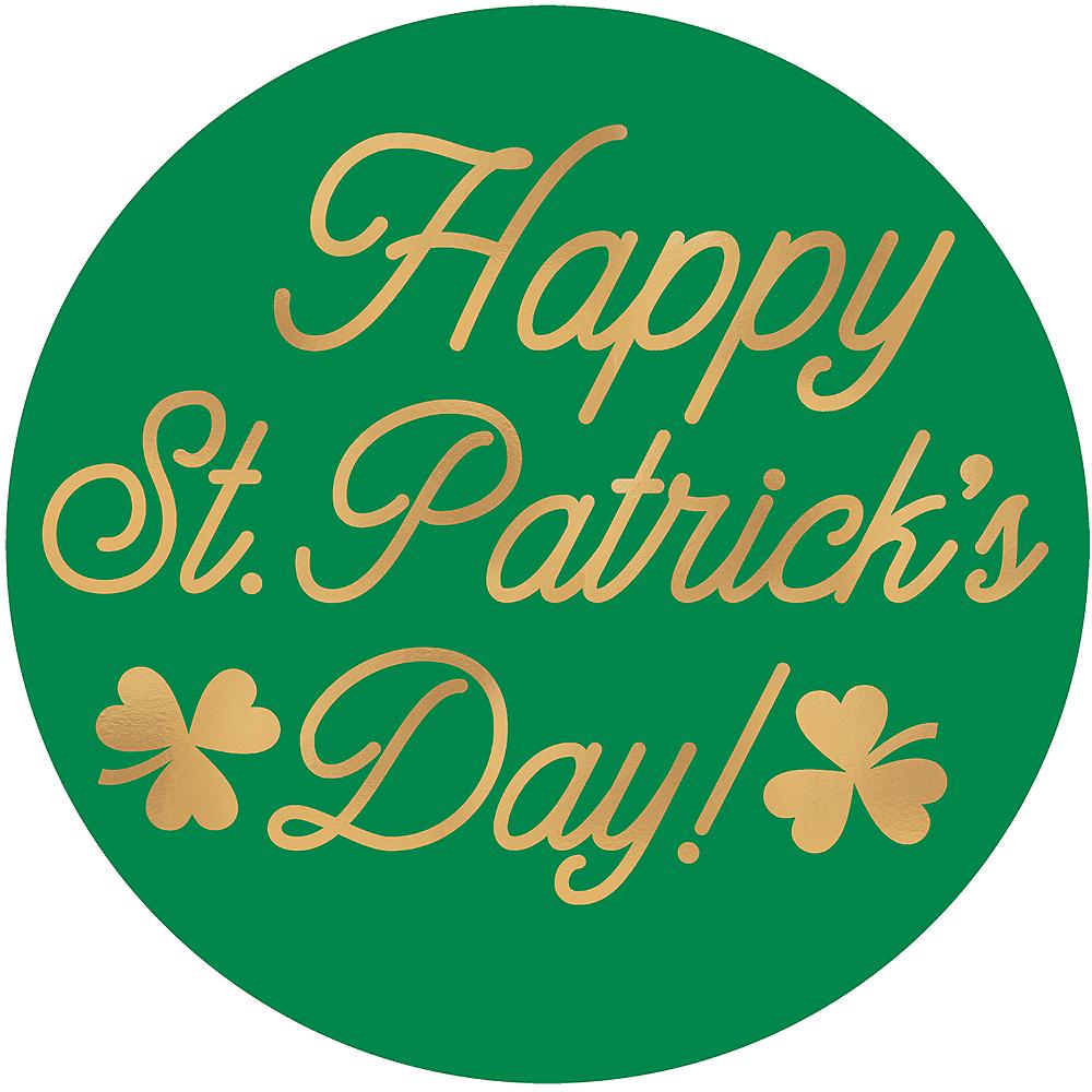 Happy St. Patrick's Day Coasters 18ct Image #1