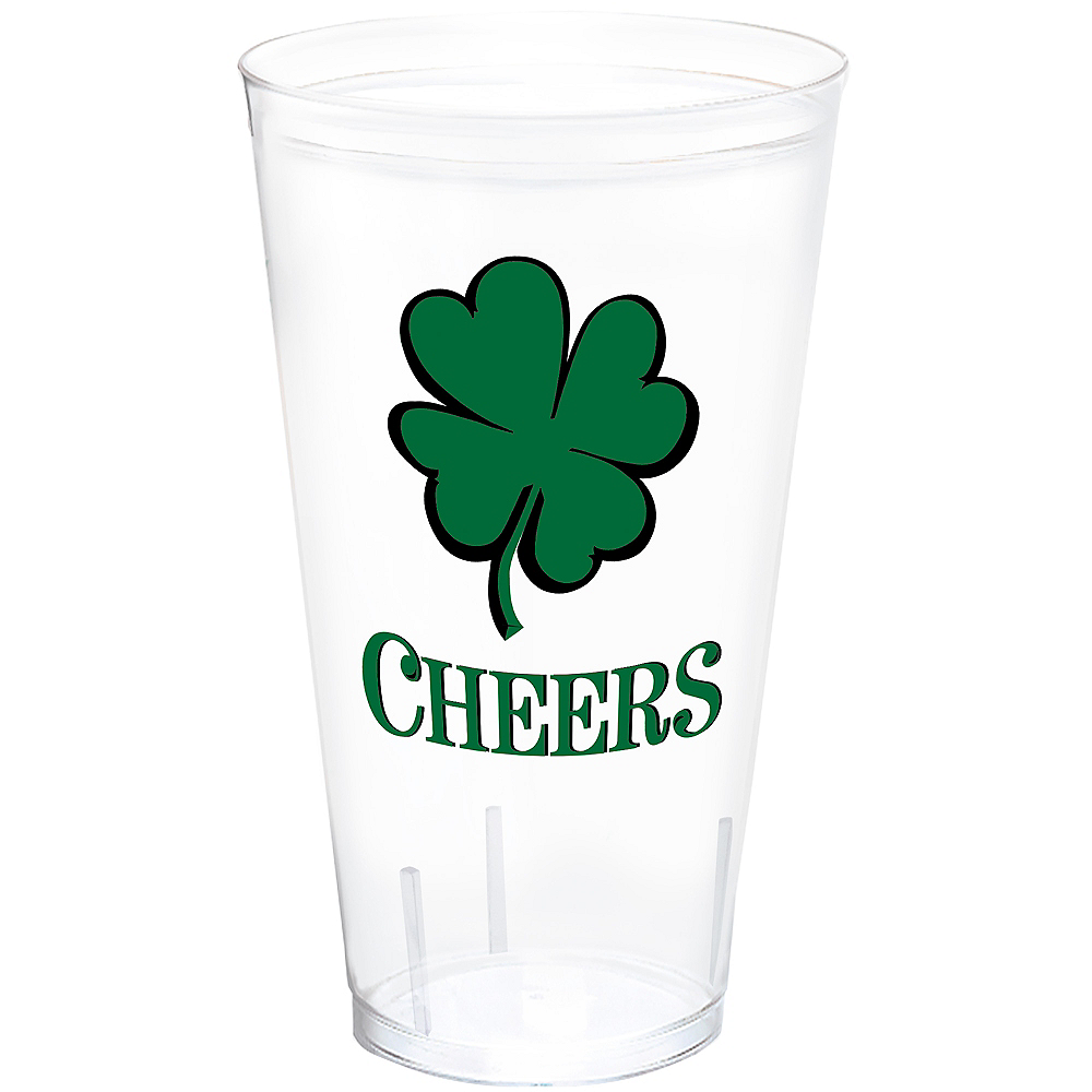 Nav Item for Cheers St. Patrick's Day Tumbler Image #1