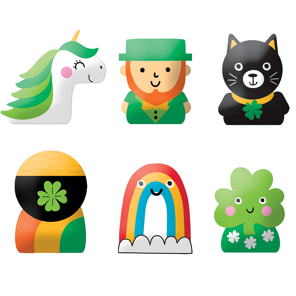 St. Patrick's Day Finger Puppet Mystery Pack Image #1