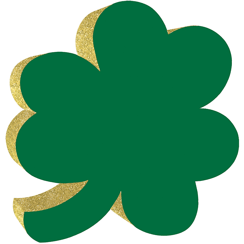Small Standing Shamrock Sign Image #1
