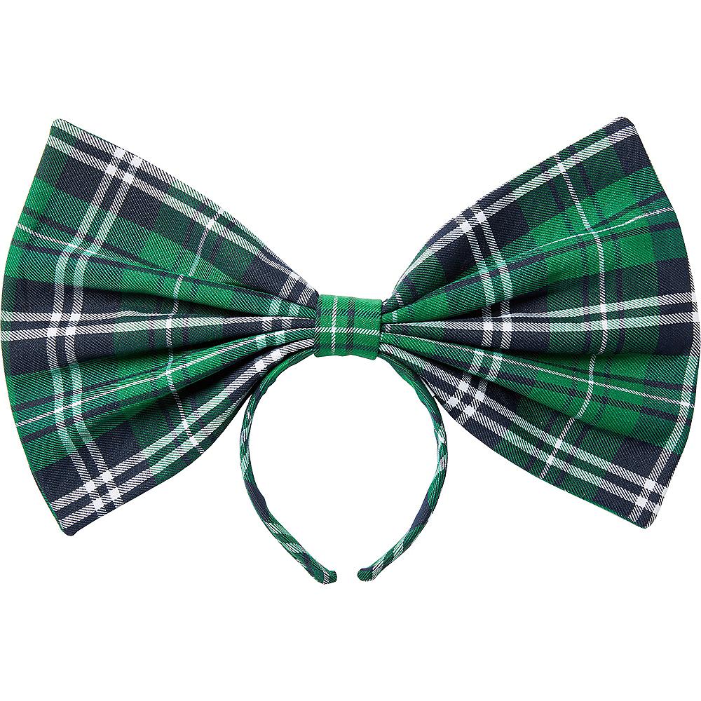 Oversized St. Patrick's Day Bow Headband Image #1