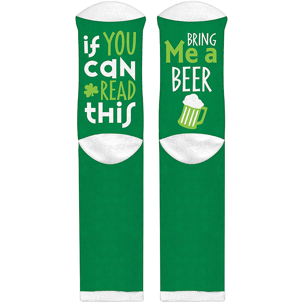 Adult Bring Me a Beer Socks Image #1