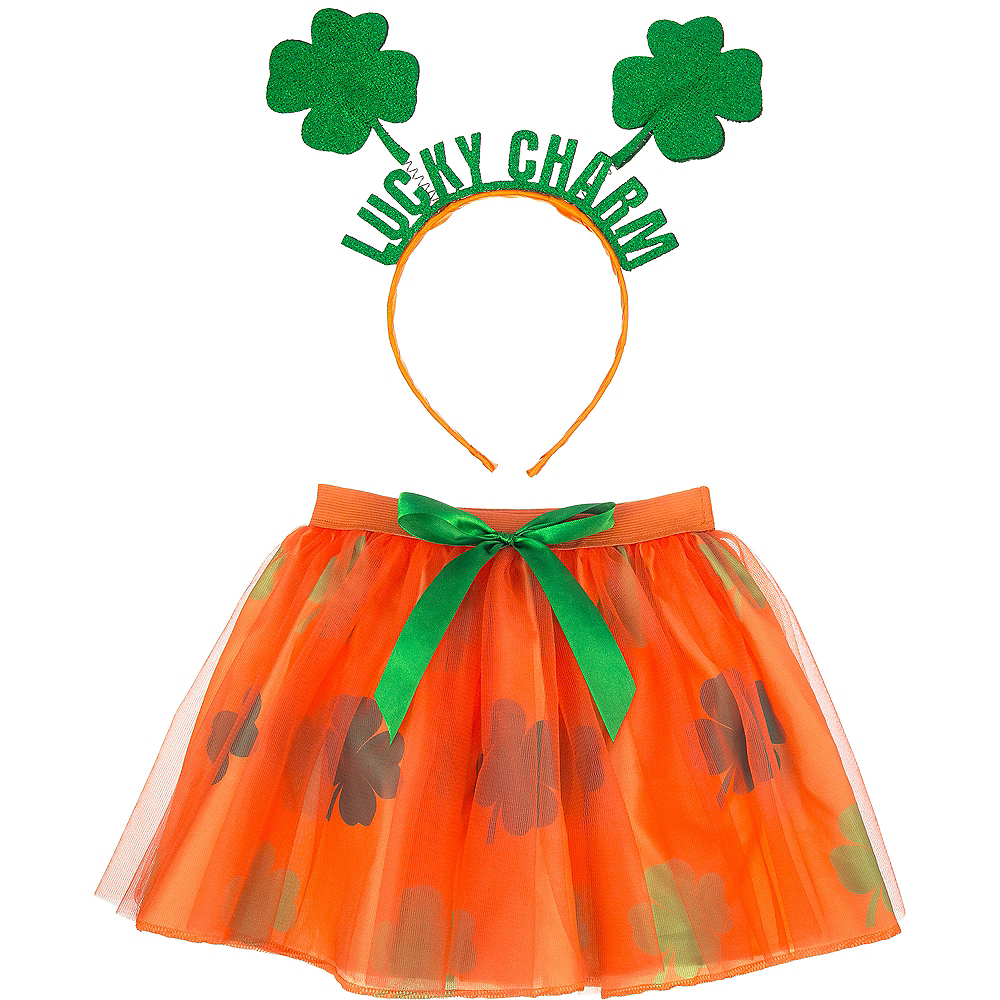 Child St. Patrick's Day Costume Accessory Kit Image #1