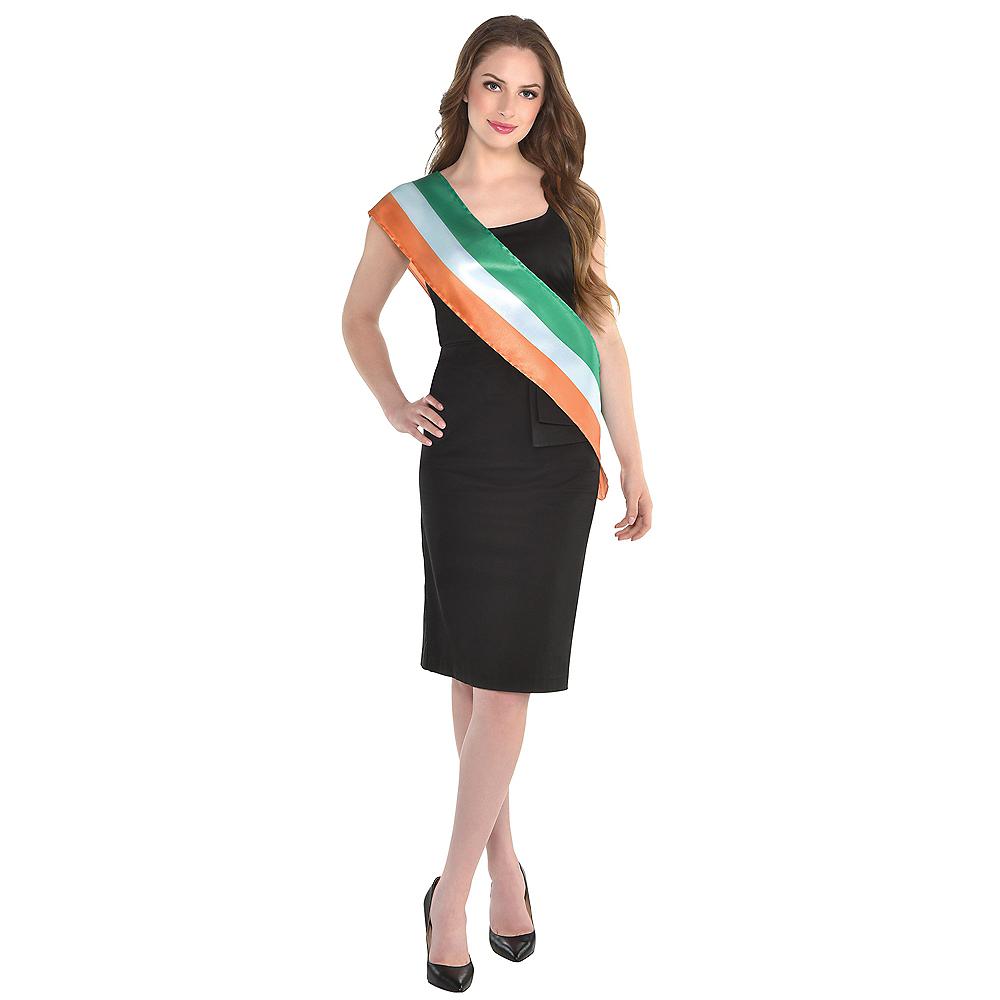 Irish Flag Sash Image #2