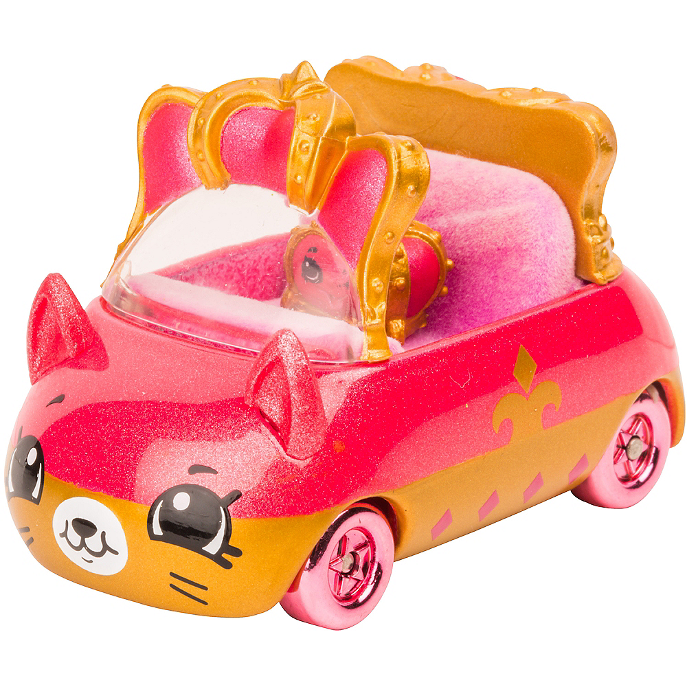 Limited Edition Limo Queen Cutie Cars Playset 2pc - Shopkins | Party ...