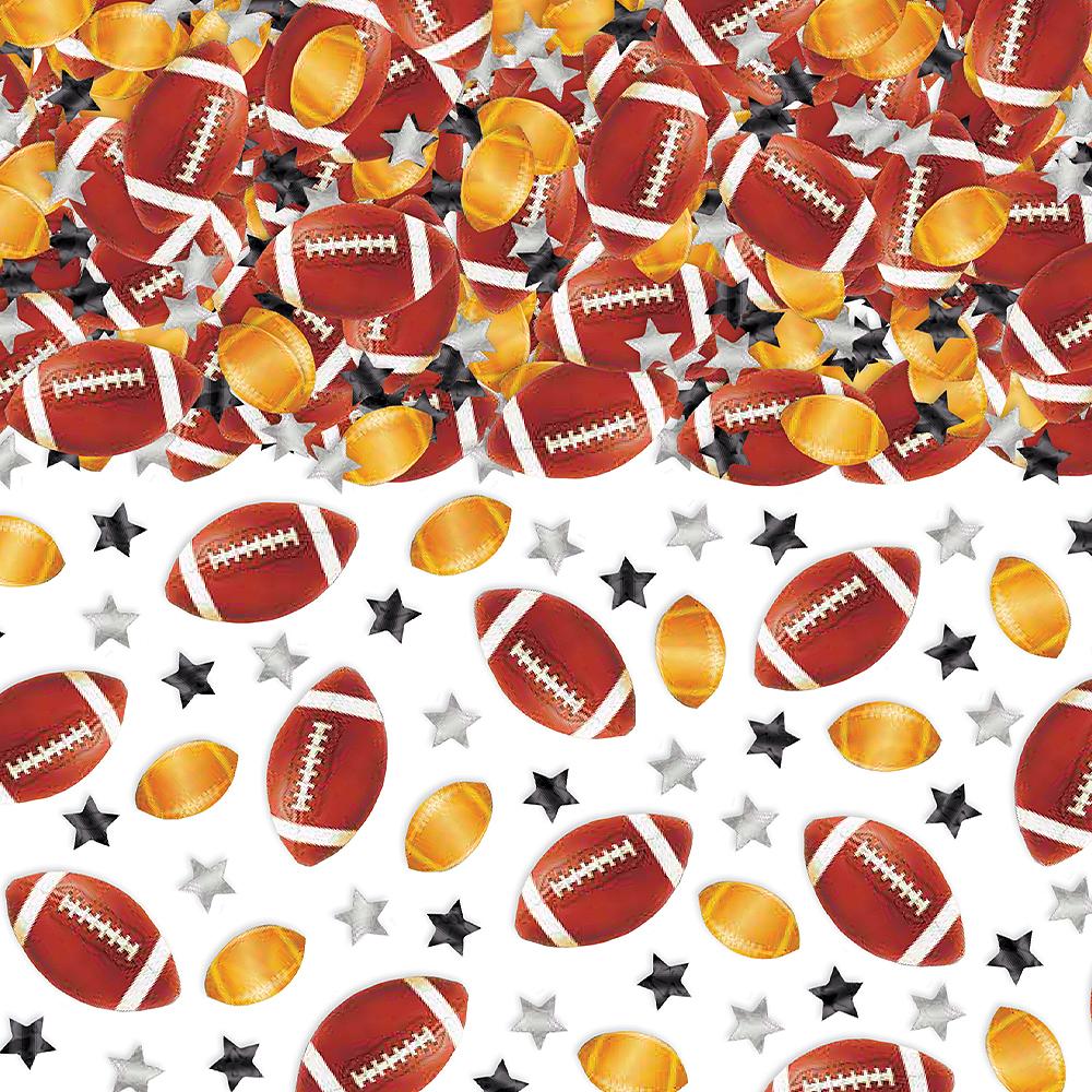 Footballs & Stars Confetti Image #1
