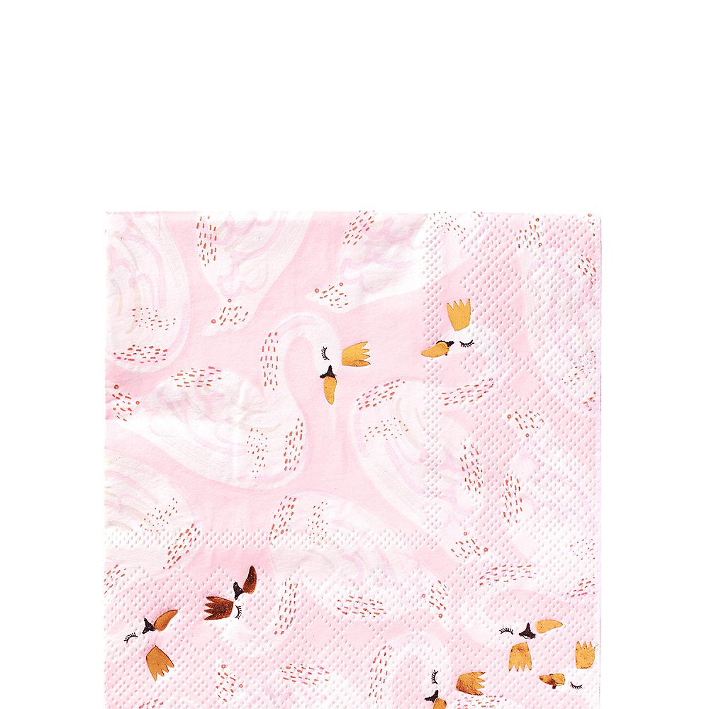 Swan Dessert Napkins 16ct Image #1