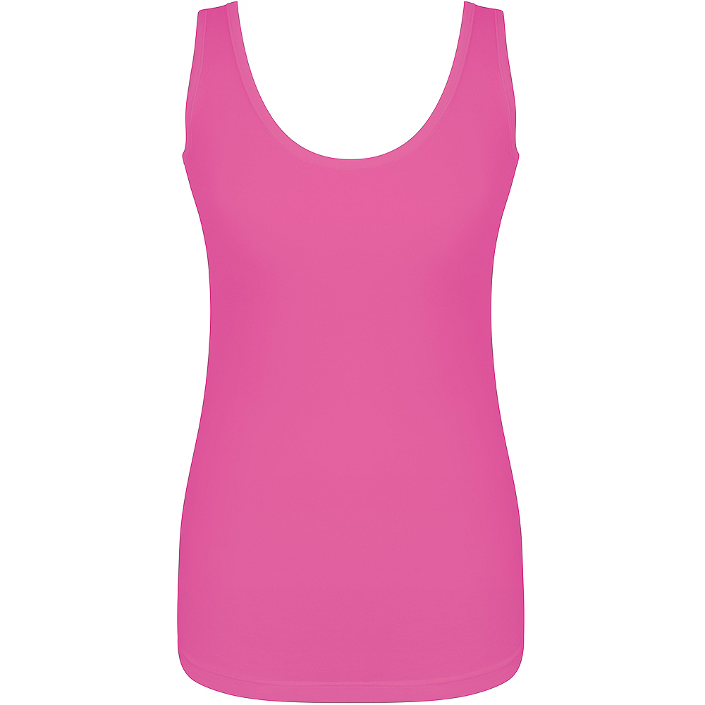 Womens Pink Tank Top Image #1