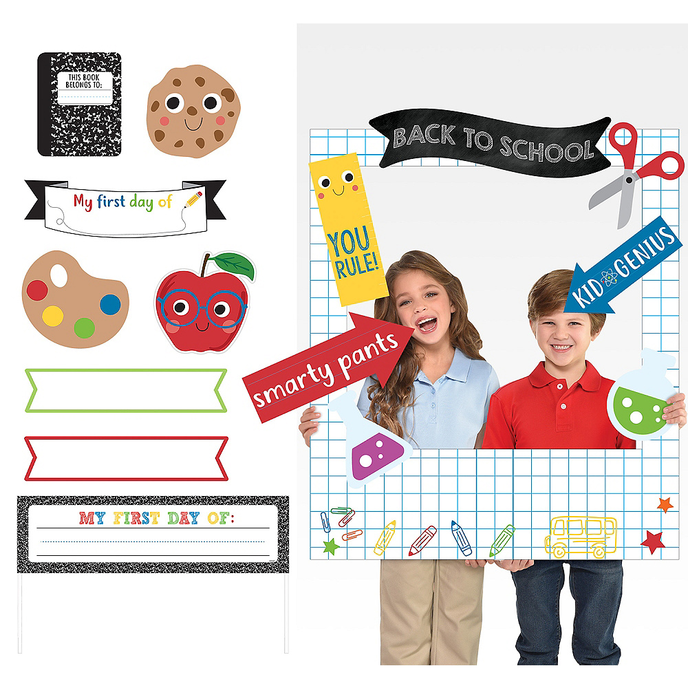Back-to-School Photo Booth Kit Image #1