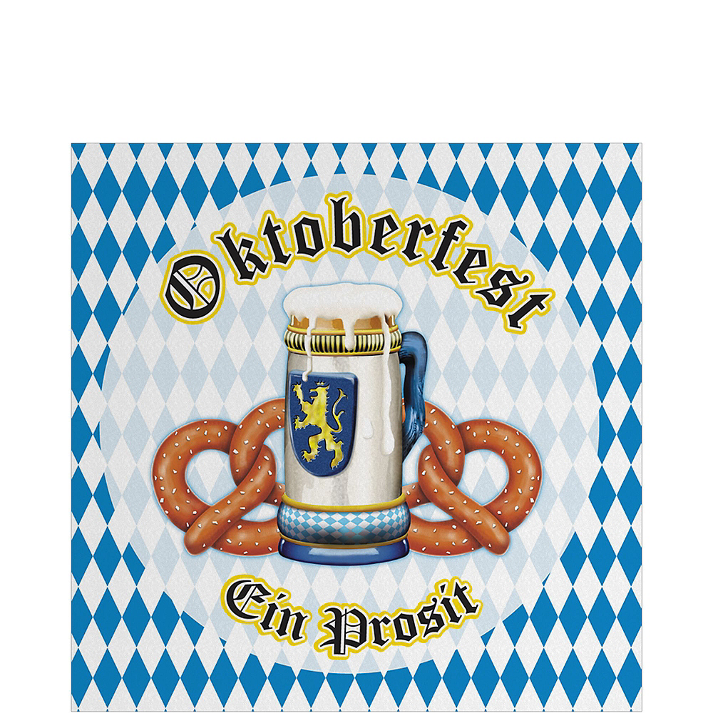 Nav Item for Oktoberfest Tableware Party Kit for 50 Guests Image #3