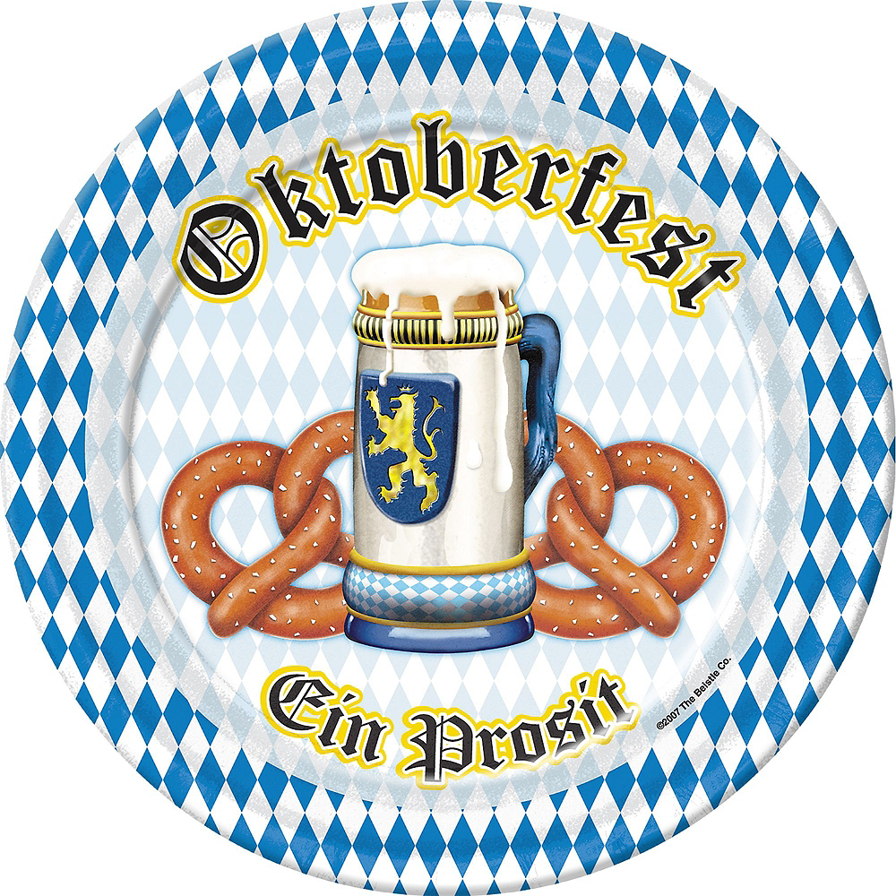 Oktoberfest Tableware Party Kit for 100 Guests Image #2