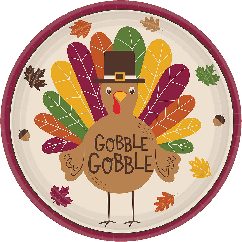 Nav Item for Gobble Gobble Tableware Kit for 18 Guests Image #3