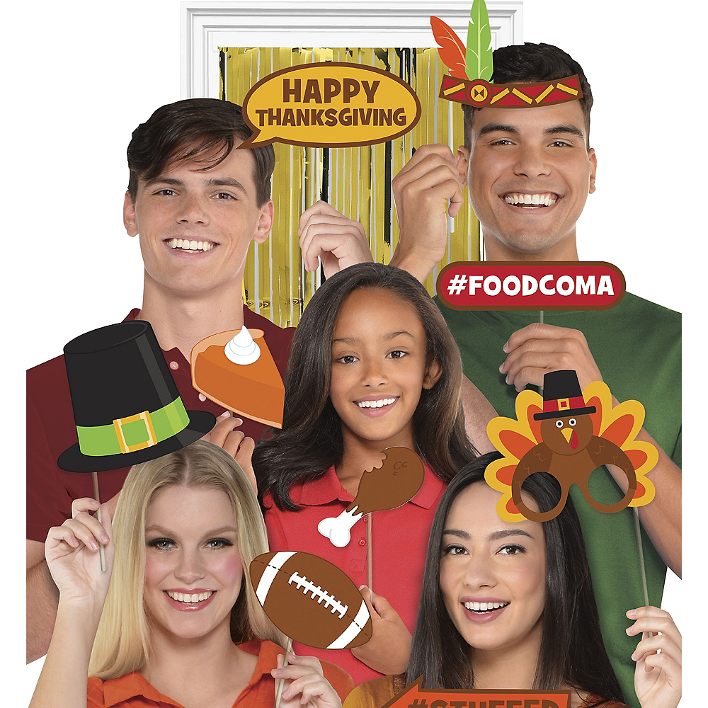 Thanksgiving Photo Booth Kit Image #1