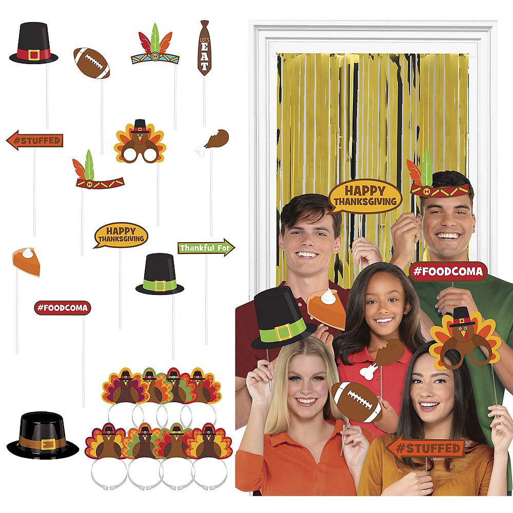 Super Thanksgiving Photo Booth Kit Image #1