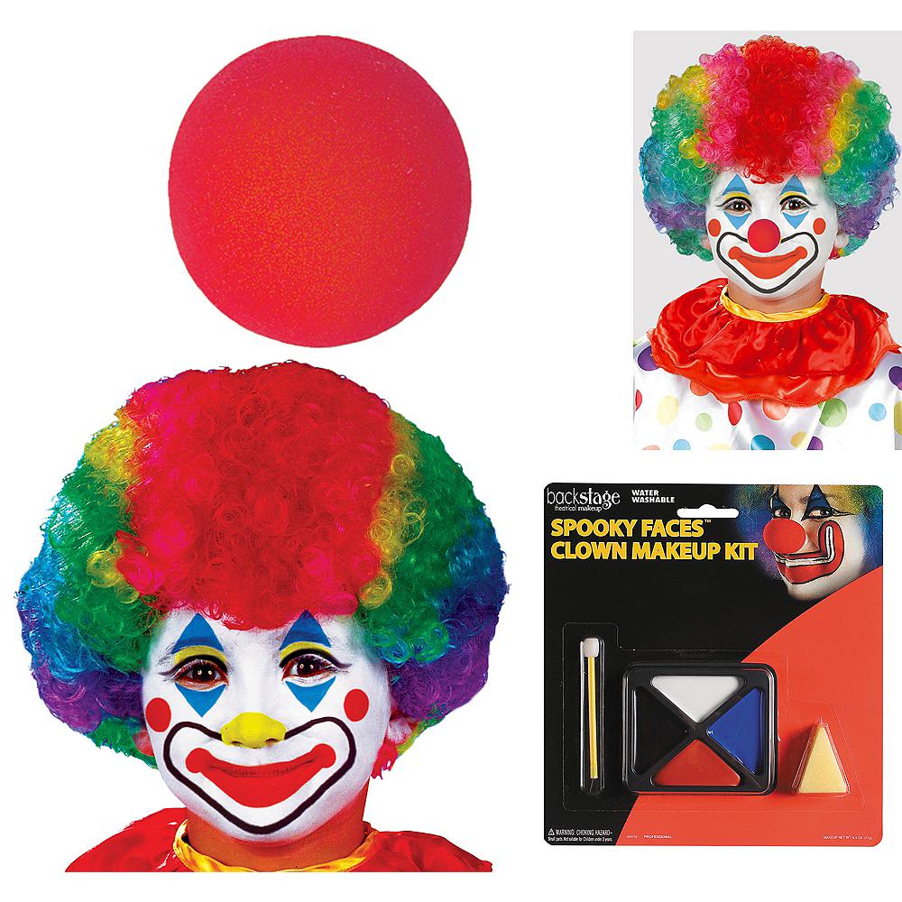 Child Clown Accessory Kit Image #1