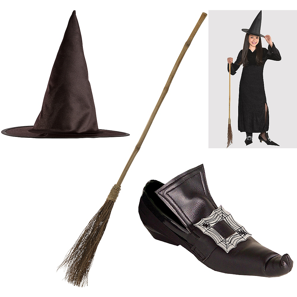 Girls Halloween Witch Accessory Kit Image #1