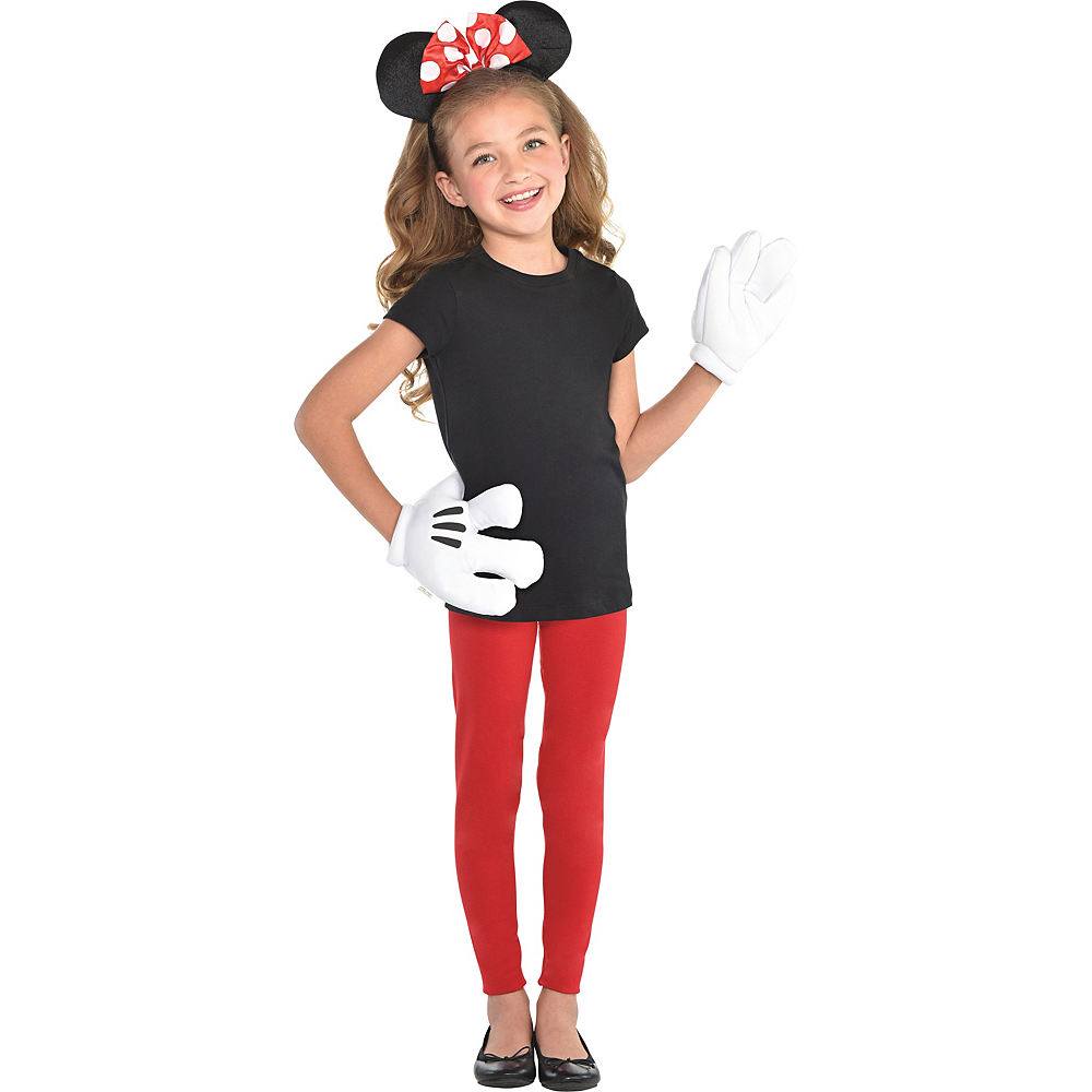 Girls Minnie Mouse Accessory Kit Image #1