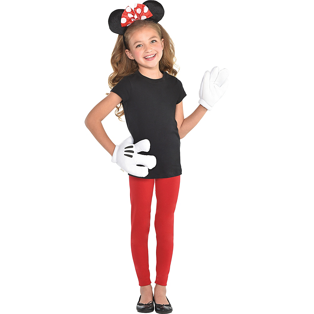 Girls Minnie Mouse Accessory Kit Image #2