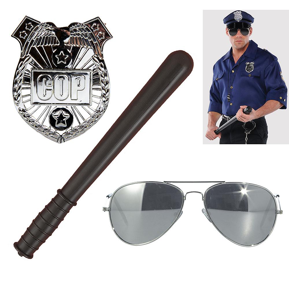 Mens Cop Accessory Kit Image #1
