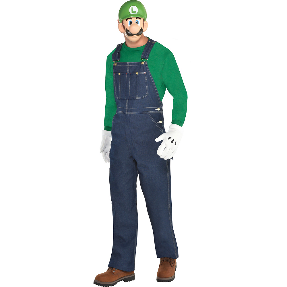 Mens Luigi Accessory Kit Image #1