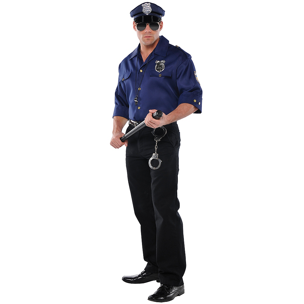 Mens Police Officer Accessory Kit Image #2