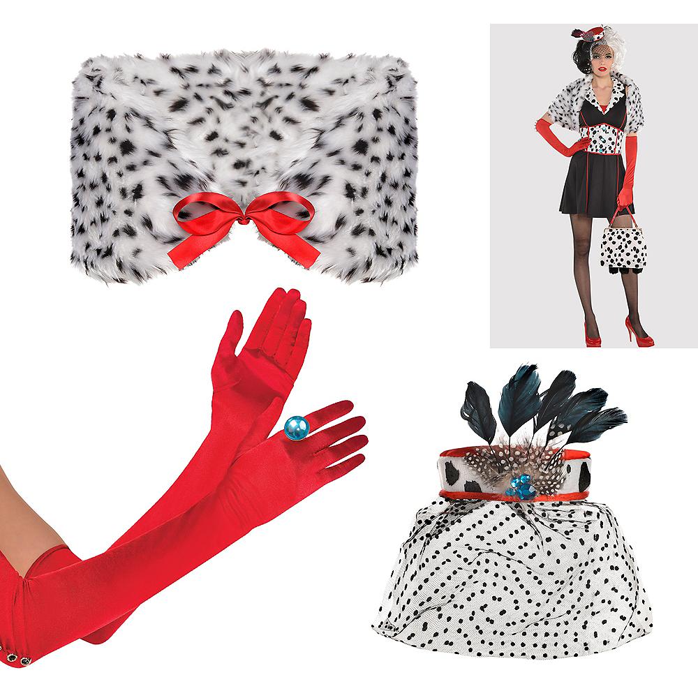 Womens Cruella De Vil Accessory Kit - 101 Dalmations Image #1