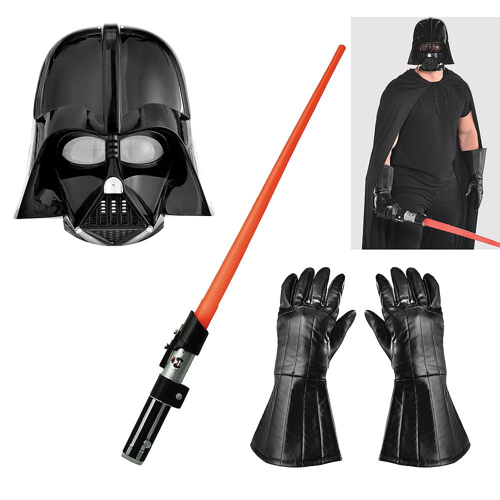 Mens Darth Vader Accessory Kit Image #1