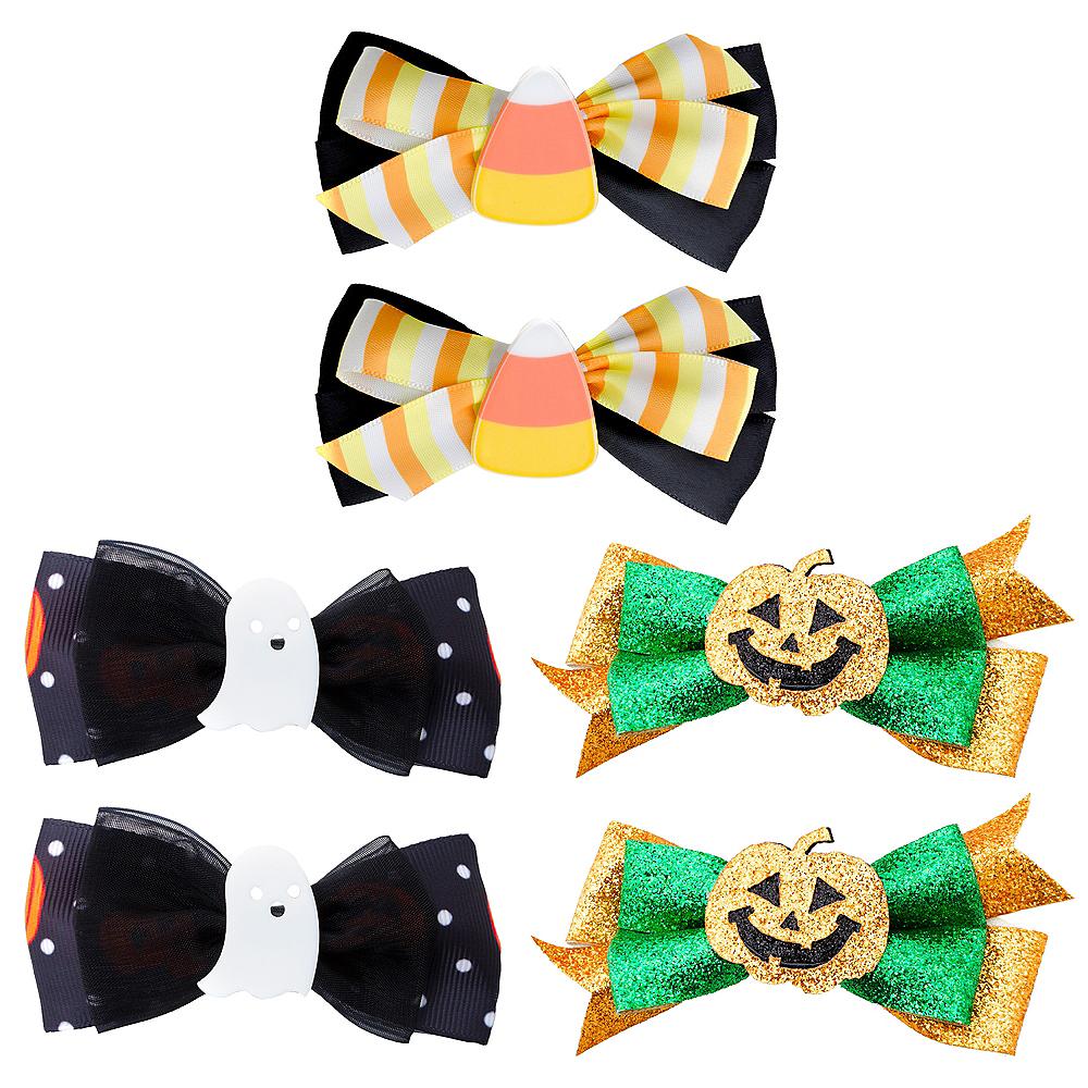 Girls Cute Halloween Hair Clip Set Image #1