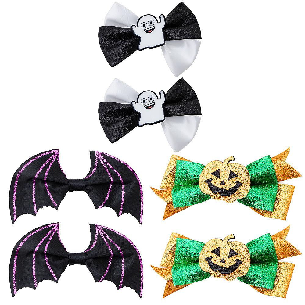 Girls Adorable Halloween Hair Clip Set Image #1