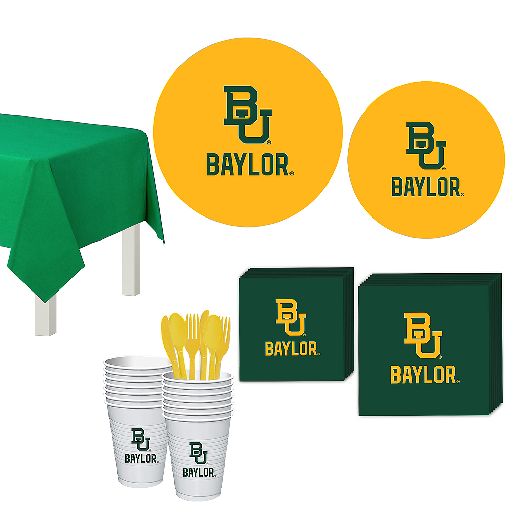 Nav Item for Baylor Bears Party Kit for 16 Guests Image #1