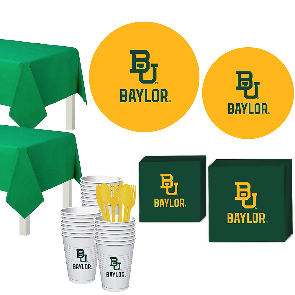 Baylor Bears Party Kit for 40 Guests Image #1