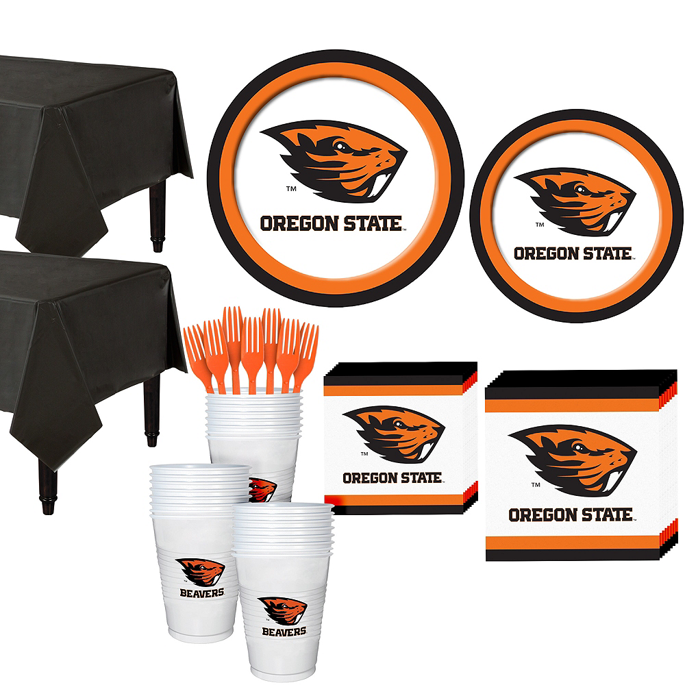 Oregon State Beavers Party Kit for 40 Guests Image #1
