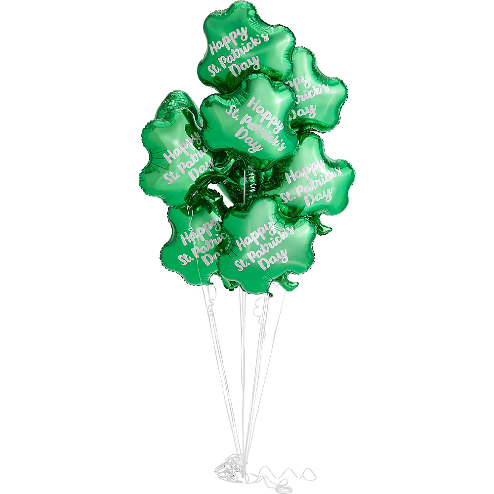 Happy St. Patrick's Day Balloon, 17in Image #2