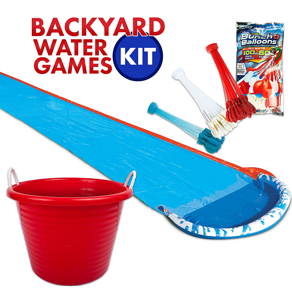 Patriotic Backyard Water Games Kit Image #1