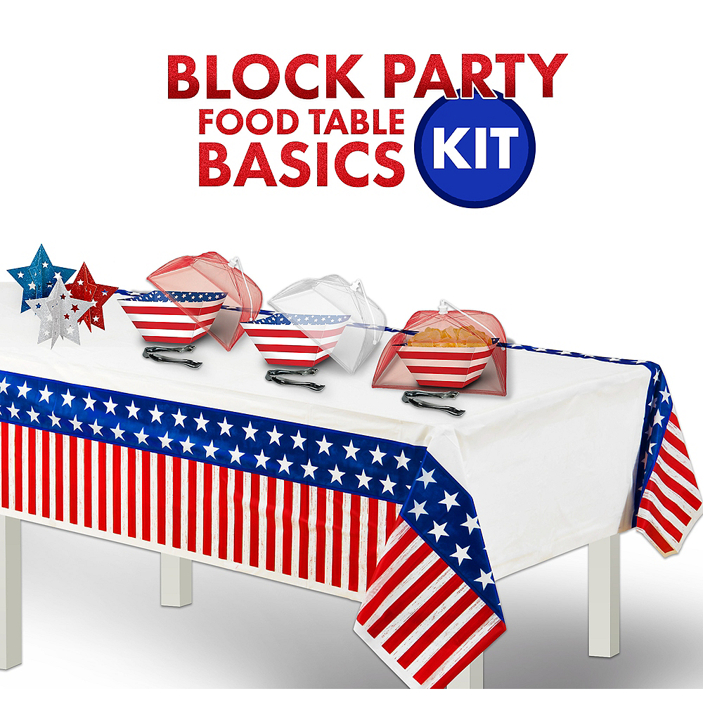 Block Party Buffet Table Kit Image #1