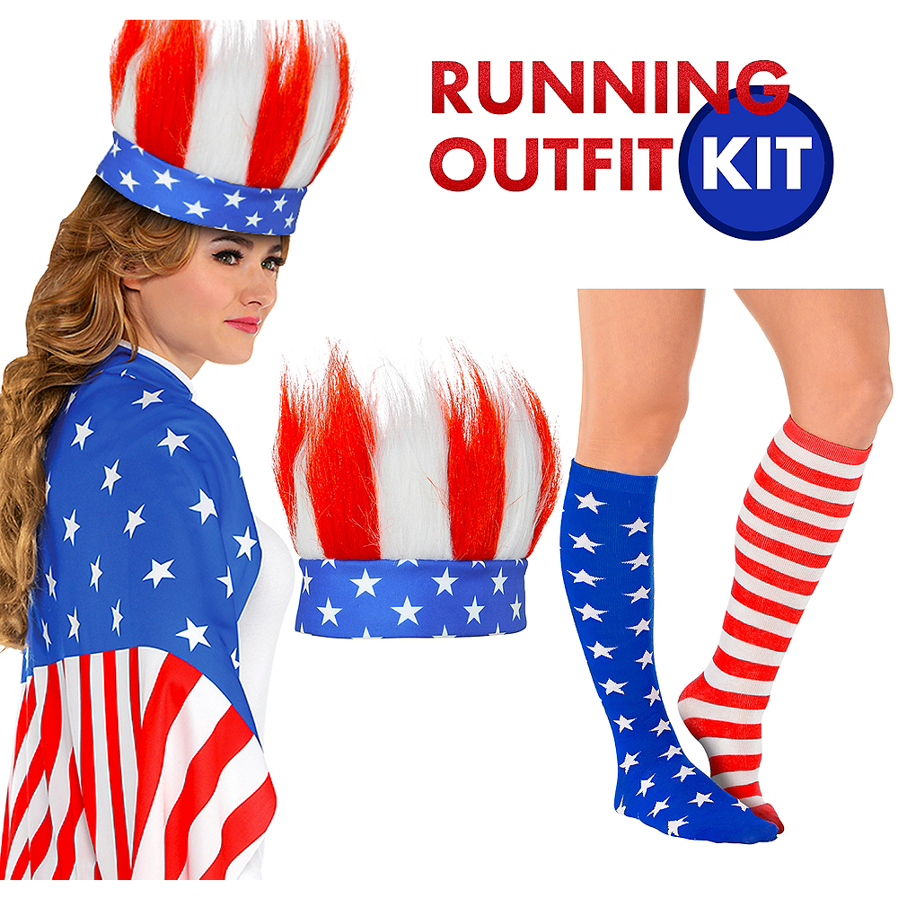 4th of July Fun Run Outfit Kit Image #1