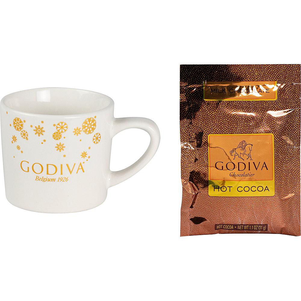 Godiva Christmas Mug with Milk Chocolate Hot Cocoa Mix Image #1
