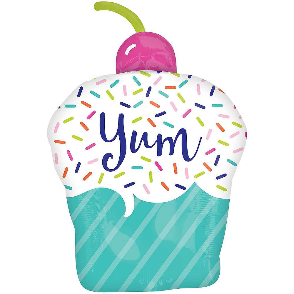 Nav Item for Sprinkle Cupcake Balloon Image #2