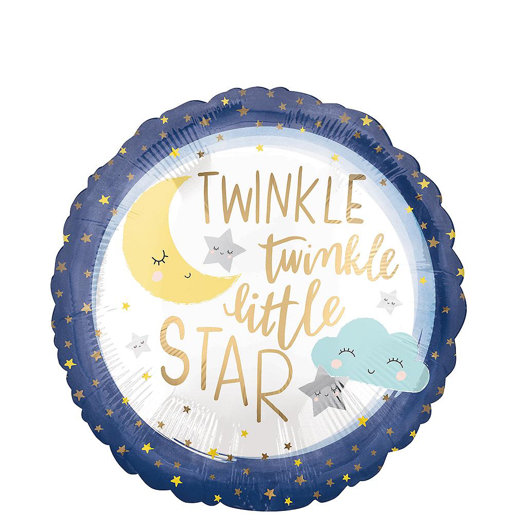 Twinkle Twinkle Little Star Balloon, 17in Image #1