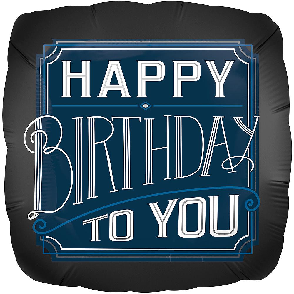 Giant Happy Birthday Classic Balloon Image #1
