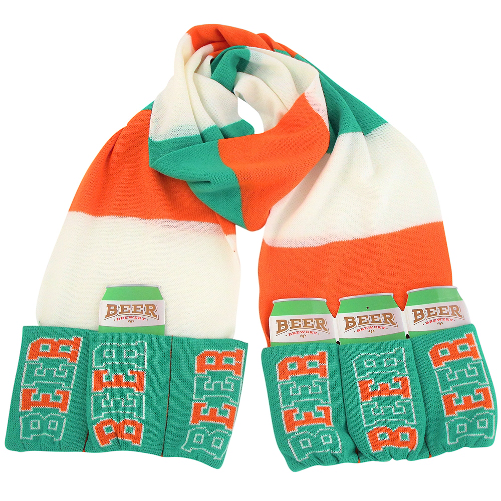 Beer Pocket St. Patrick's Day Scarf Image #1