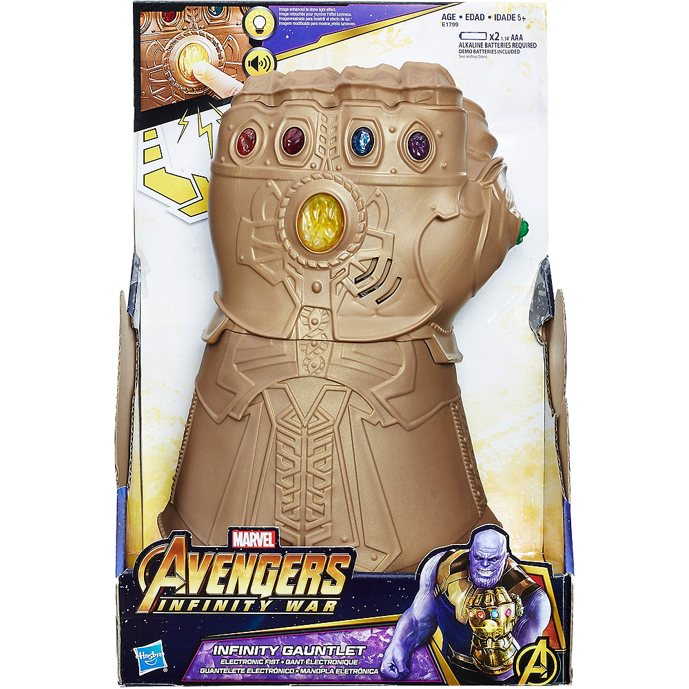 Child Light-Up Thanos Infinity Gauntlet with Sound Effects - Avengers: Infinity War Image #4