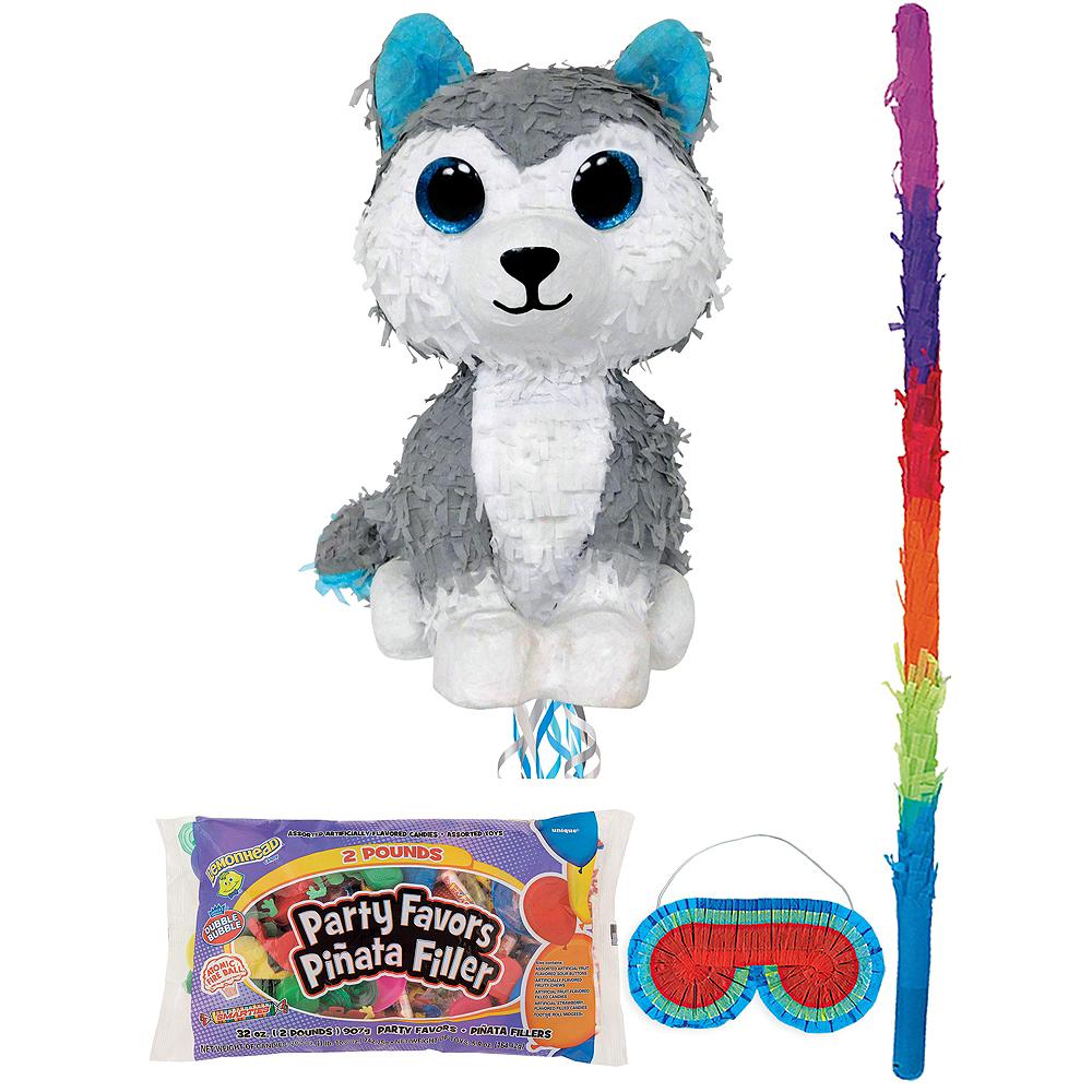 Slush Pinata Kit with Candy & Favors - Beanie Boos Image #1