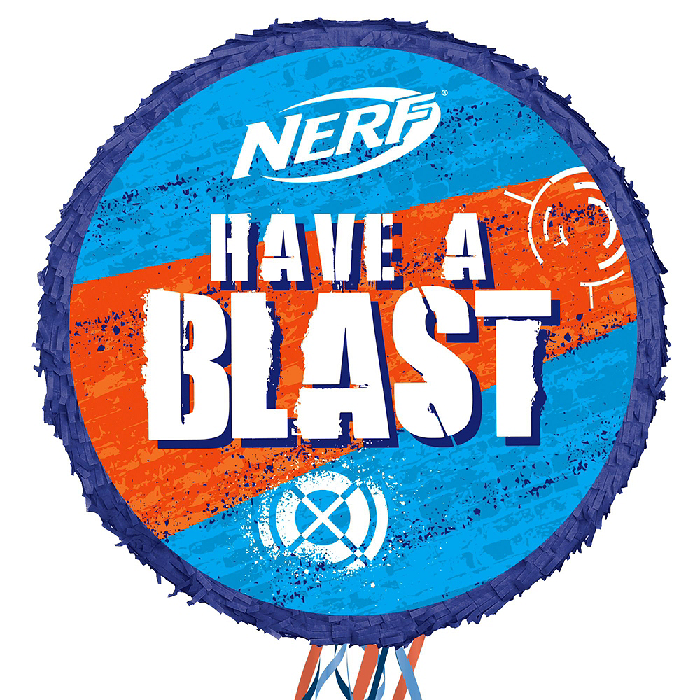 Nerf Pinata Kit with Candy & Favors Image #2