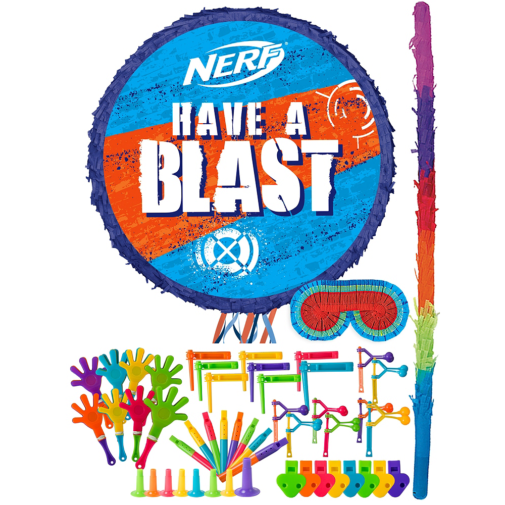 Nerf Pinata Kit with Favors Image #1