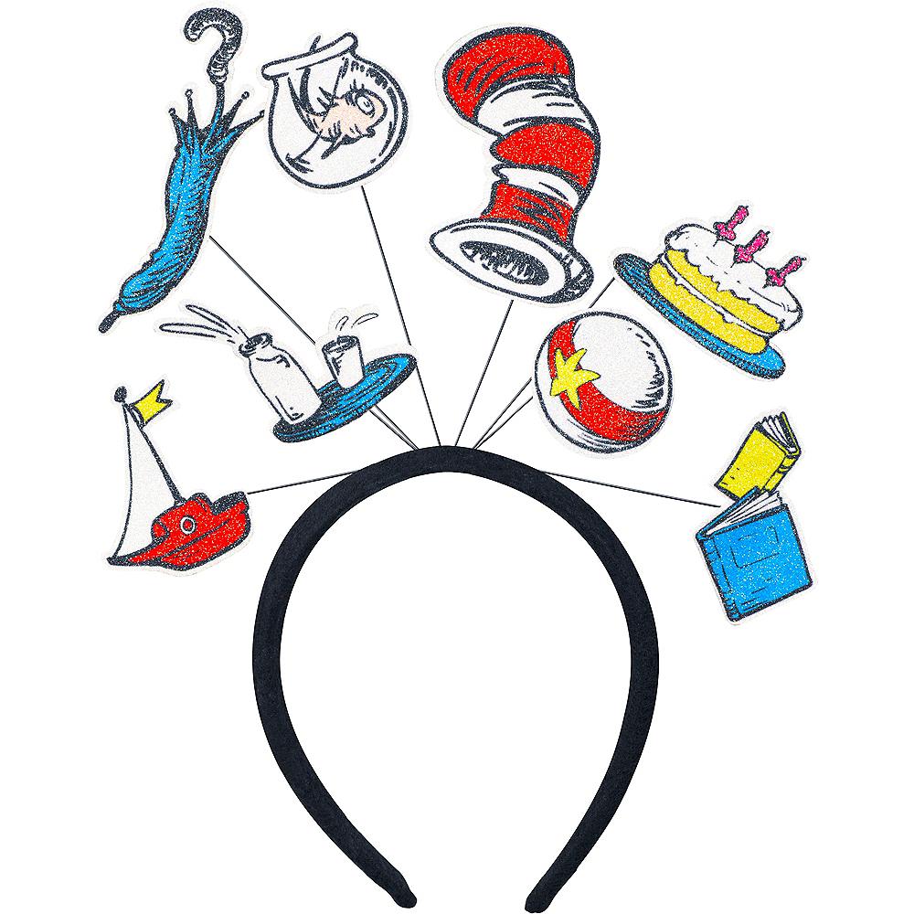 Glitter Cat in the Hat Headband - Dr. Seuss Image #1