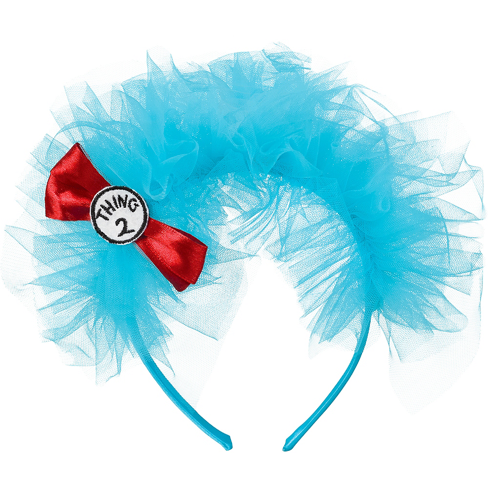 Thing 1 & Thing 2 Headband – Dr. Seuss Image #1
